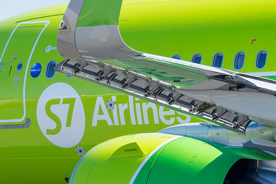 Airbus A320neo нового лоукостера S7